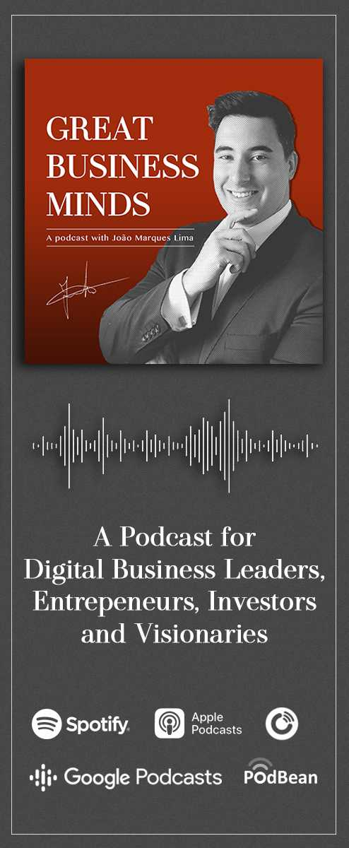 A Podcast for digital business leaders, entrepreneurs, investors and visionaries